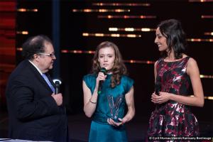 Adélaïde Ferrière awarded Instrumental Soloist of the Year during Les Victoires de La Musique Classique 2017.